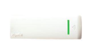Lettore NFC di prossimità da esterno volo come sopra ma di colore bianco- 2m.