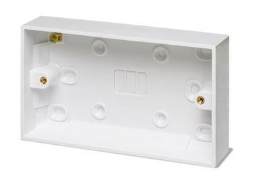 Fondo di Plastica Bianco per Montaggio a Vista