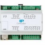 Modulo IP 4 ingressi, 4 uscite in contenitore guida DIN