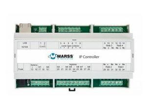 Modulo IP 8 ingressi, 8 uscite in contenitore guida DIN
