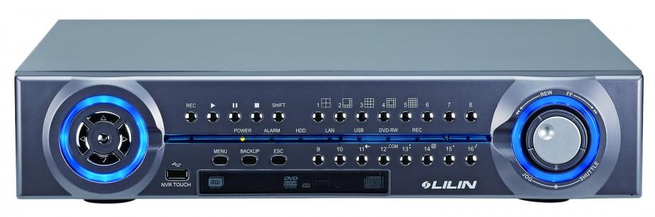 NVR a 16 canali IP, registrazione in FULL HD a 1080p (2MP) a 25 fps per canale