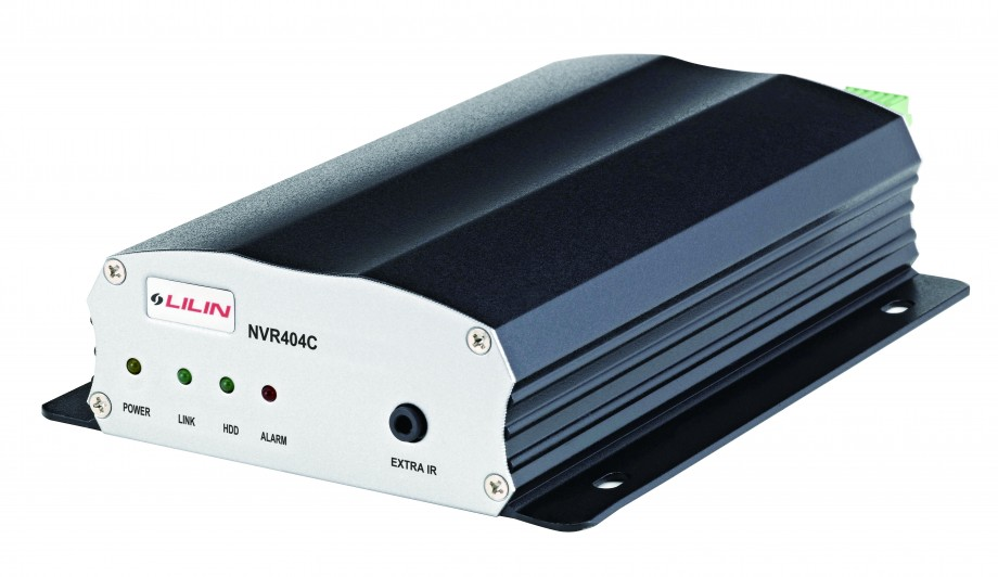 NVR a 4 canali IP, registrazione in FULL HD a 1080p a 25 fps per canale