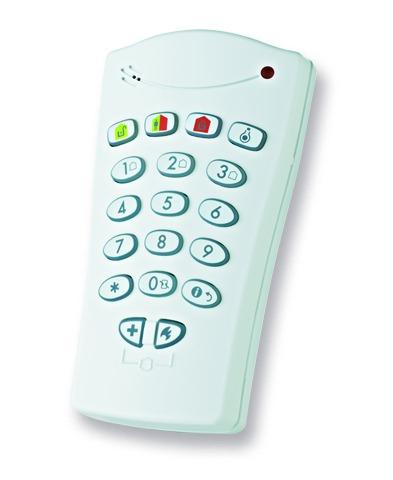 Tastiera remota per ilcontrollo delle centrali BW.