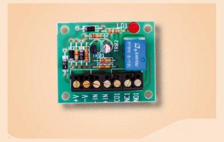 Scheda interfaccia relè 12V 3A amplificata in corrente a 1 relè