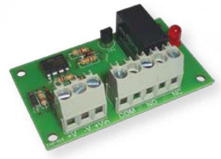 Scheda interfaccia relè 12Vcc 3A 250Vac amplificata