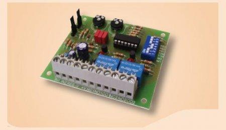 Circuito relè multi timer a 8 funzioni programmabili