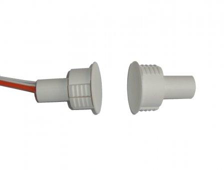 Sensore inerziale e contatto magnetico da incasso