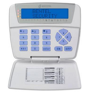 Tastiera LCD
