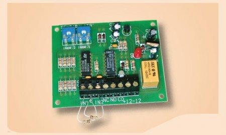 Scheda analisi per sensori inerziali a doppio ingresso
