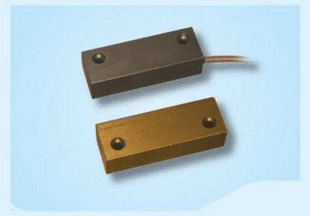 Contatto magnetico alluminio per porte metalliche