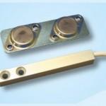 Contatto magnetico in alluminio anodizzato per avvolgibili