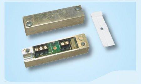 Contatto magnetico in alluminio pressofuso con terminali a morsetti