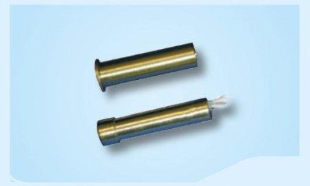Contatto magnetico da incasso in ottone Ø 7,5 mm