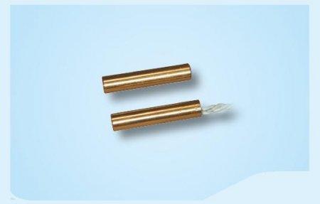 Contatto magnetico da incasso in ottone Ø 6,2 mm