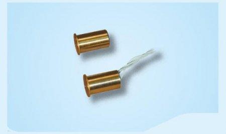Contatto magnetico da incasso corpo in ottone Ø 10 mm