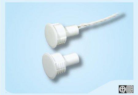 contatto magnetico da incasso ad alta portata con corpo plastico Ø 20 mm